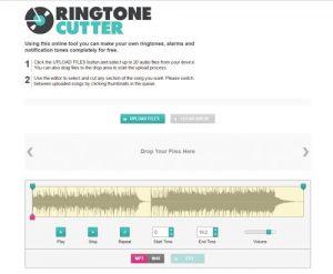 Free ringtone maker online
